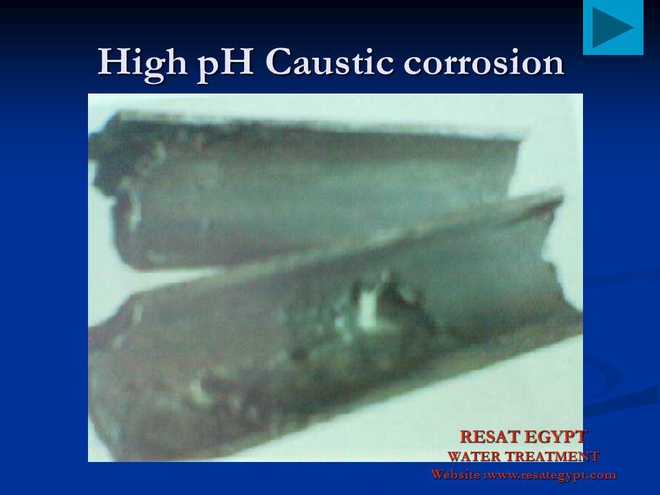 Pitting Corrosion Inside Boiler RESAT EGYPT WATER TREATMENT Website :www.resategypt.com