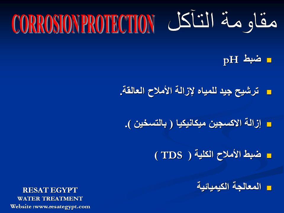 Corrosion Of Steel VS Boiler Water pH RESAT EGYPT WATER TREATMENT Website :www.resategypt.com