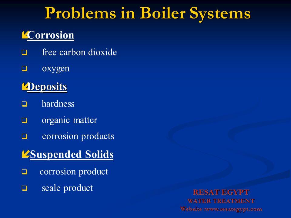 Boiler Water Treatment Boiler Water Treatment RESAT EGYPT WATER TREATMENT Website :www.resategypt.com