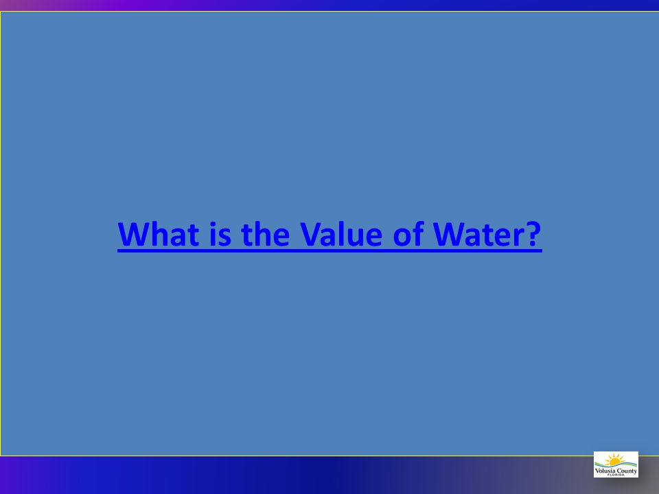 The Business of Water Like a Business Provide Services (water distribution and sewer collection) Produce Products (Potable and Reclaimed Water) Requir