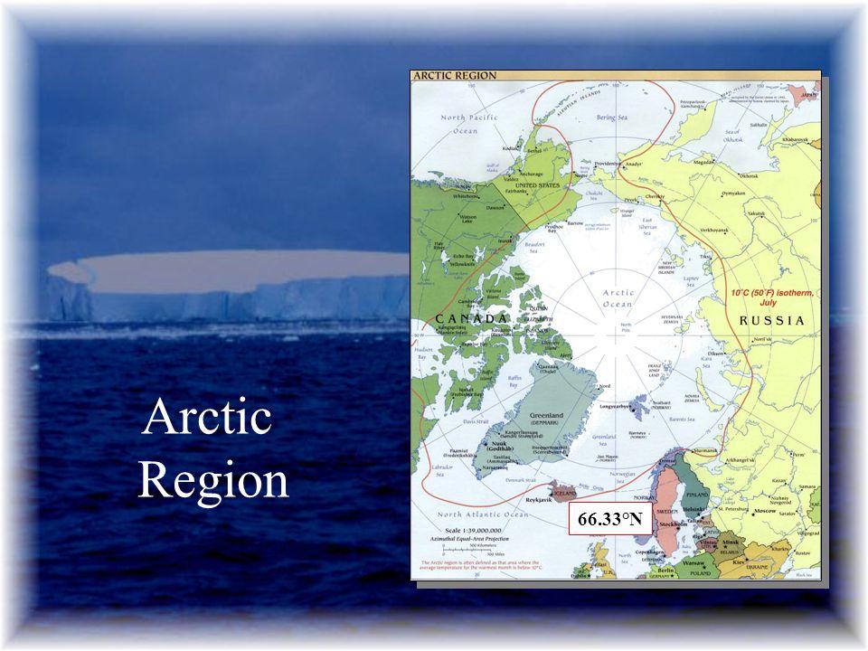 Arctic Region 66.33°N