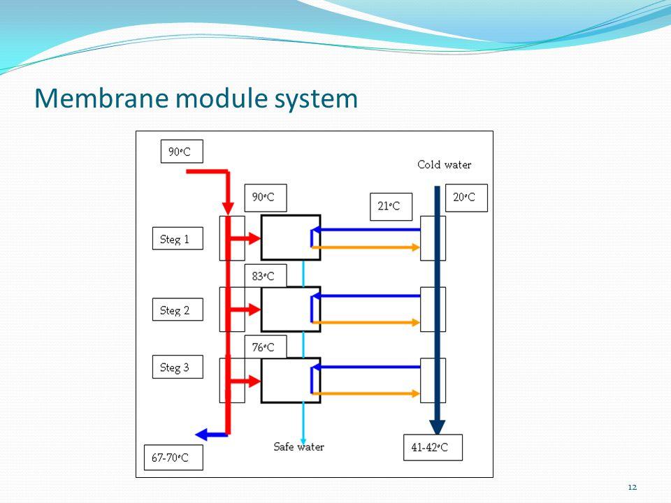 12 Membrane module system