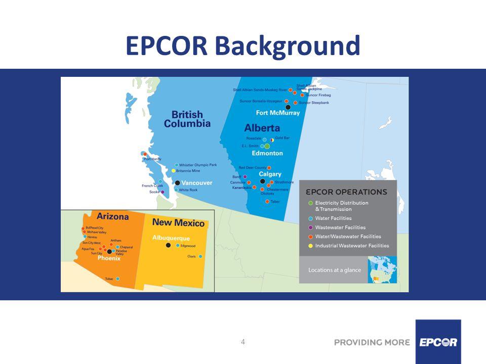 5 EPCOR Water – Edmonton Statistics Waterlines = 3,700 kms Hydrants = 18,000 Valves = 54,000 Depth of Bury = 2.8meters Population Served = 1 million Service Connections = 240,000 Average Demand = 340 MLD Maximum Demand = 550 MLD