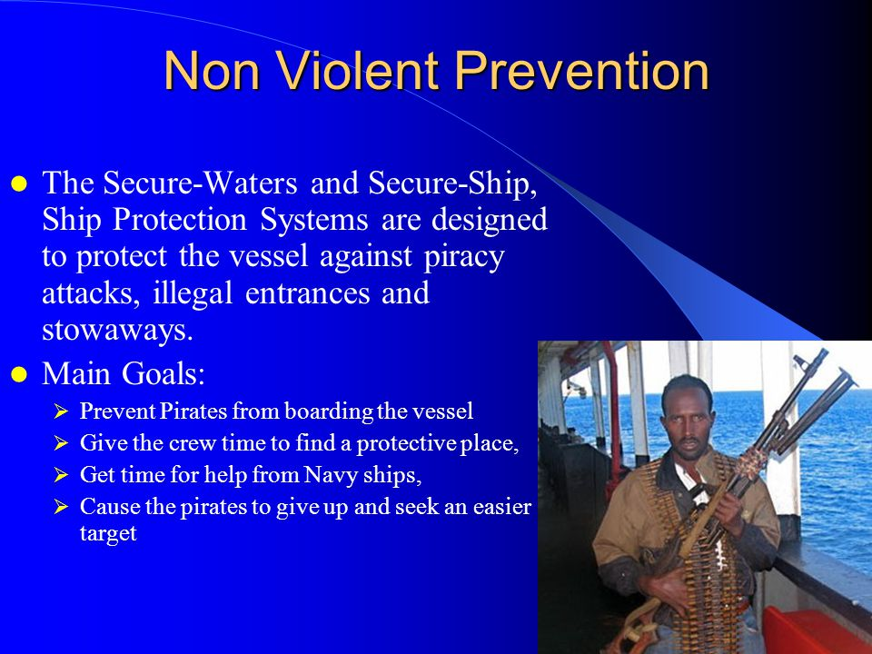 Secure-Ship – 9000 volts Secure-Ship - A Security system that prevents attack.