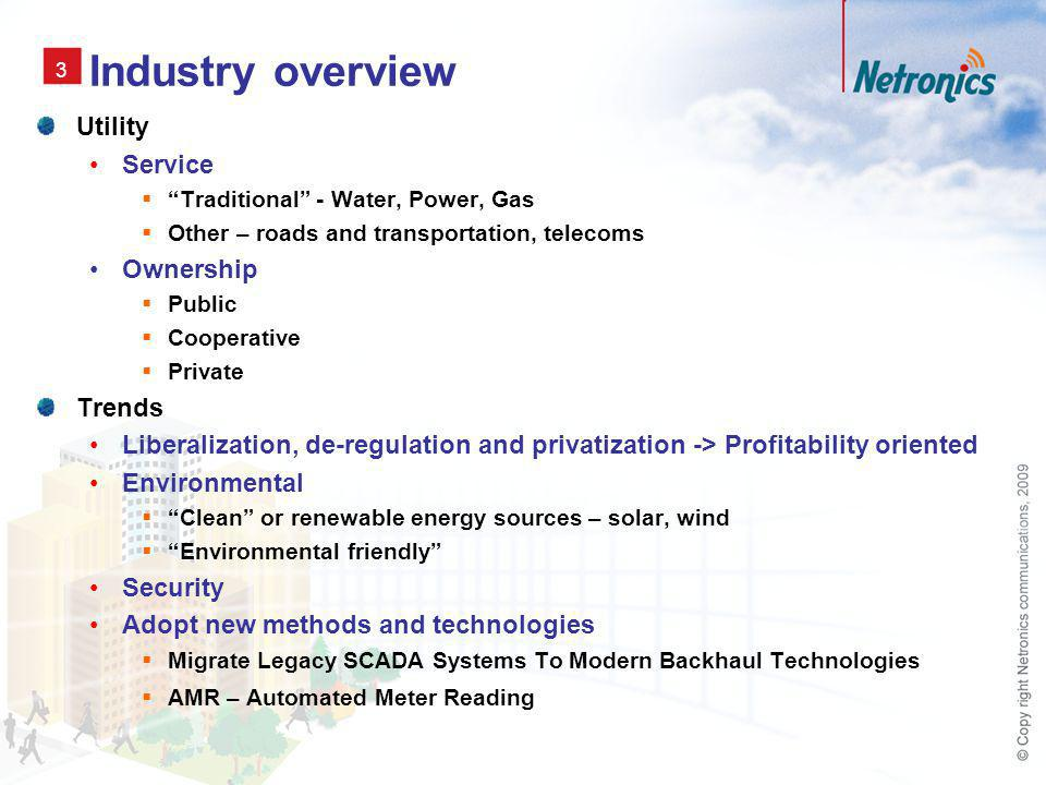 4 Industry overview Why focus on water utilities.