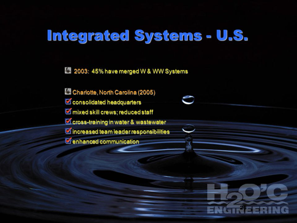 Integrated Systems - U.S.