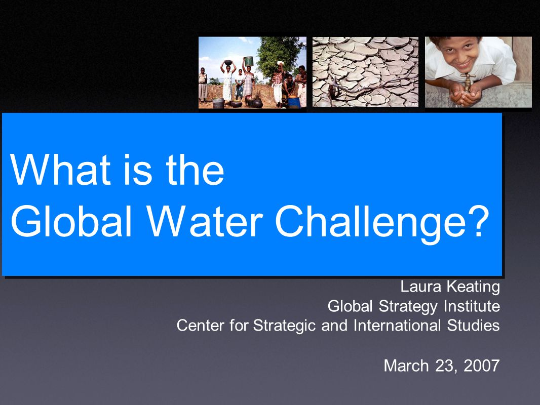 What is the Global Water Challenge.
