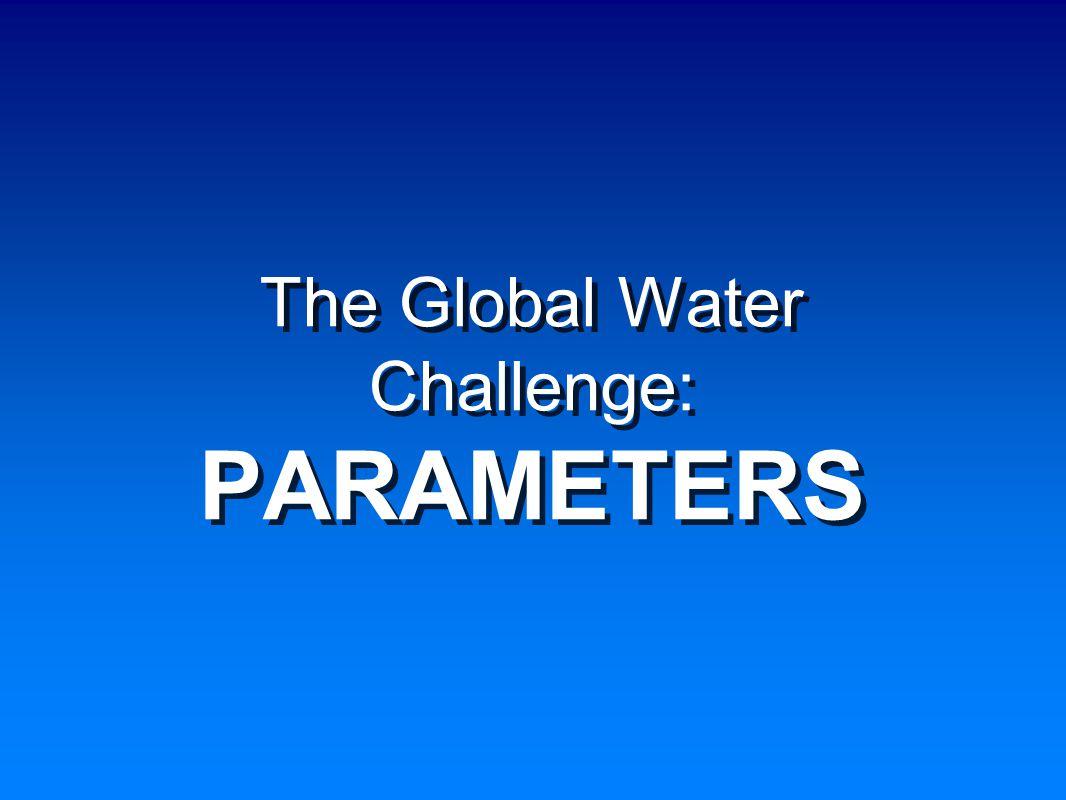 Per Capita Water Availability SCARCITY