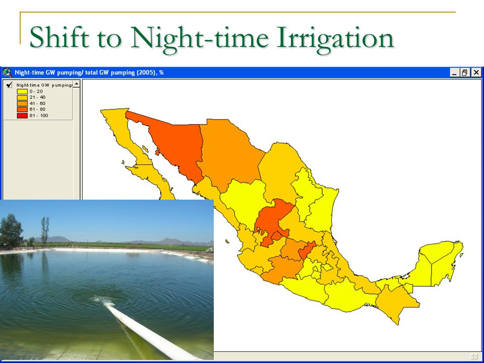 Shift to Night-time Irrigation