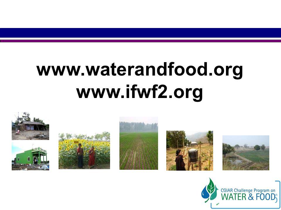 www.waterandfood.org www.ifwf2.org