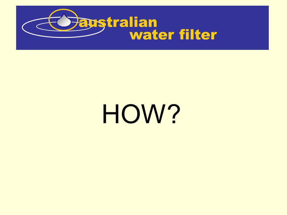 water filter australian The Flow control valve can be adjusted to control the amount of water sent through the RO Unit as a side stream.