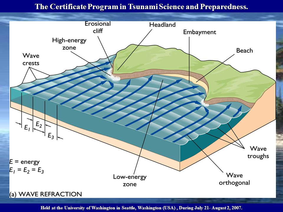The Certificate Program in Tsunami Science and Preparedness.