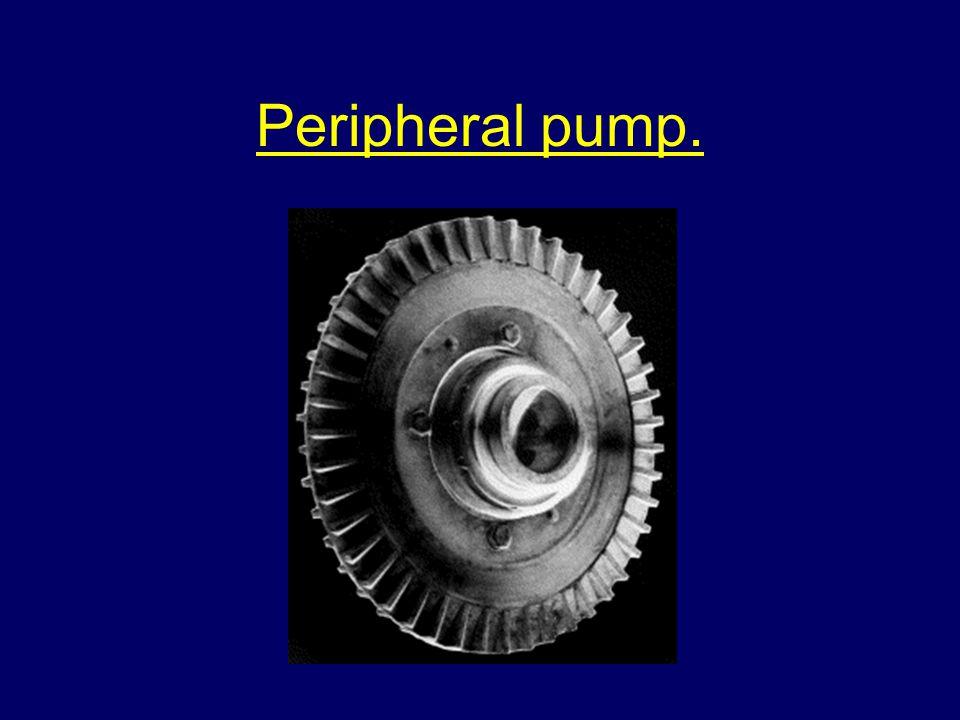 Peripheral pump.