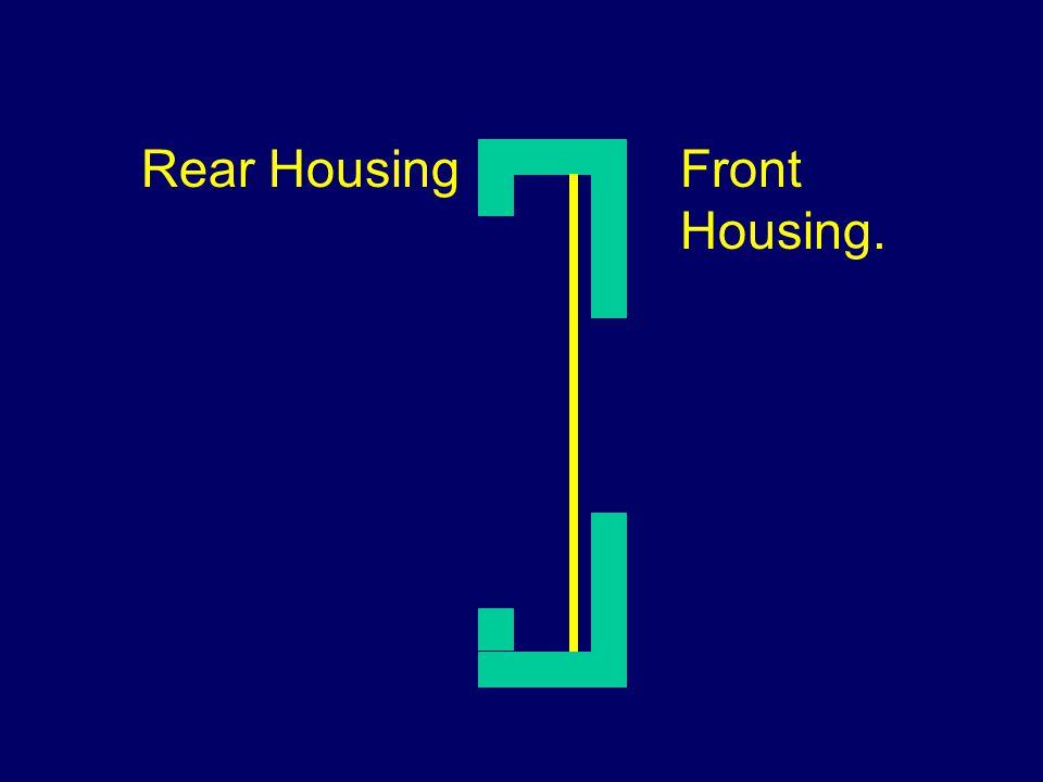 Rear HousingFront Housing.