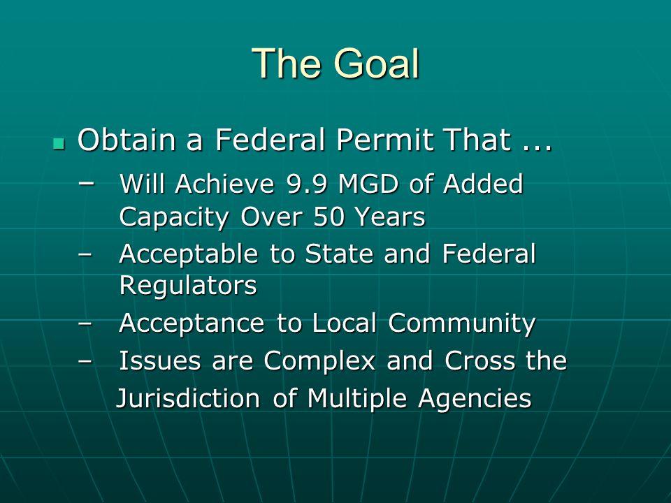 Obtain a Federal Permit That... Obtain a Federal Permit That...