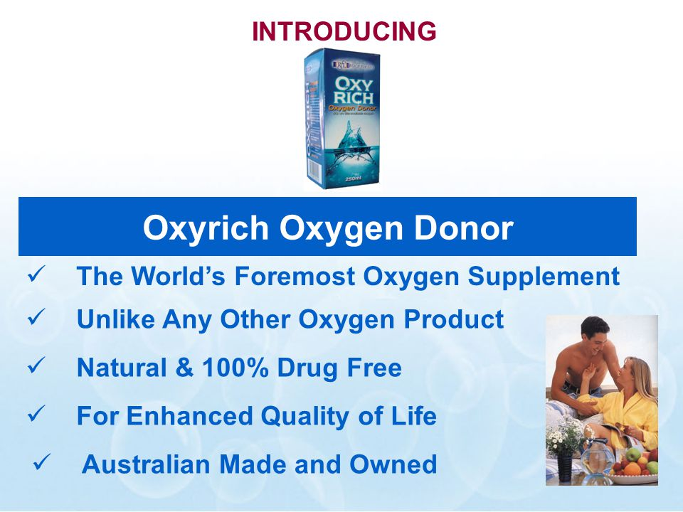 What is Oxyrich.