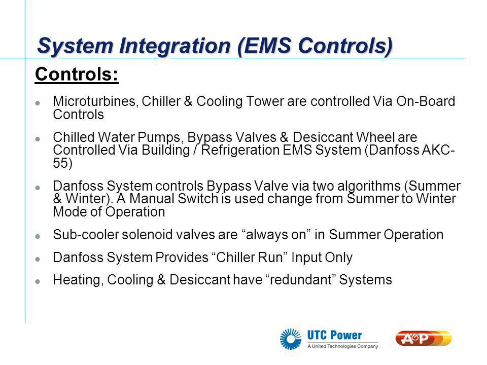 System Installation (Roof Top) PureComfort 240 Munters HVAC Pre-Fabricated Refrigeration Penthouse Chilled Water Supply / Return Refrigeration Sub-Cooling Water Coil Desiccant Exhaust Manifold