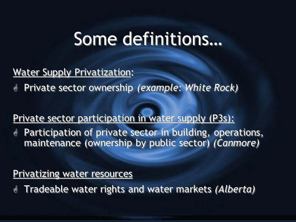 3.Do you believe water is a public good or a commodity.
