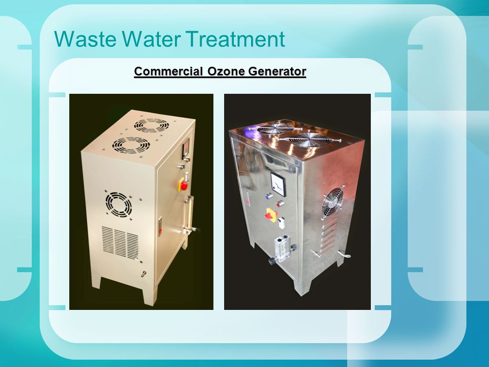 Waste Water Treatment Commercial Ozone Generator