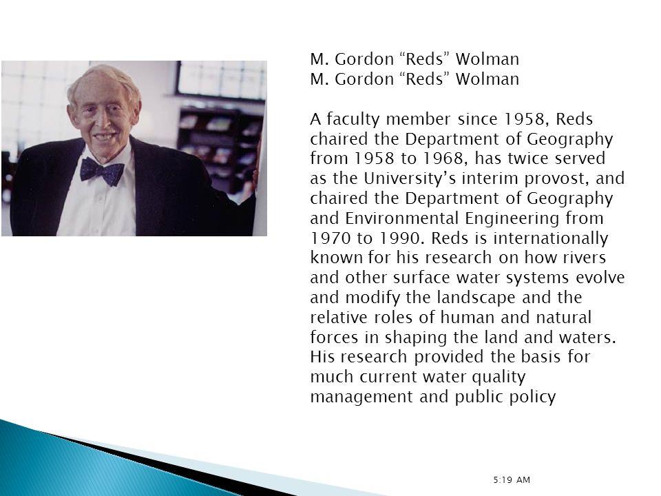 M.Gordon Reds Wolman 1.
