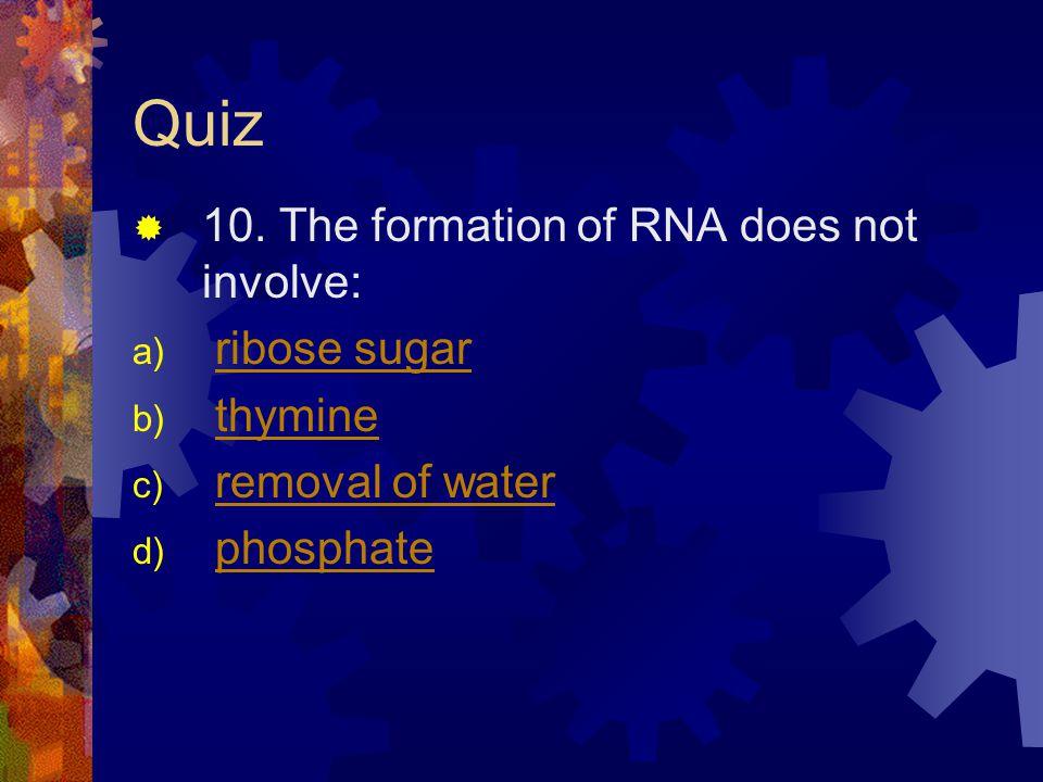 Quiz 10.