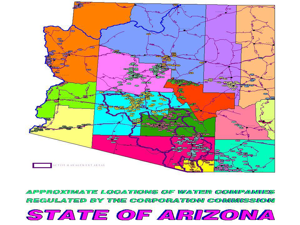 Maricopa and Pinal County Total Population 1976-2006 Slide Courtesy of SRP Actual Growth Rate 3.7% per year Projected Growth Rate 3.0% per year