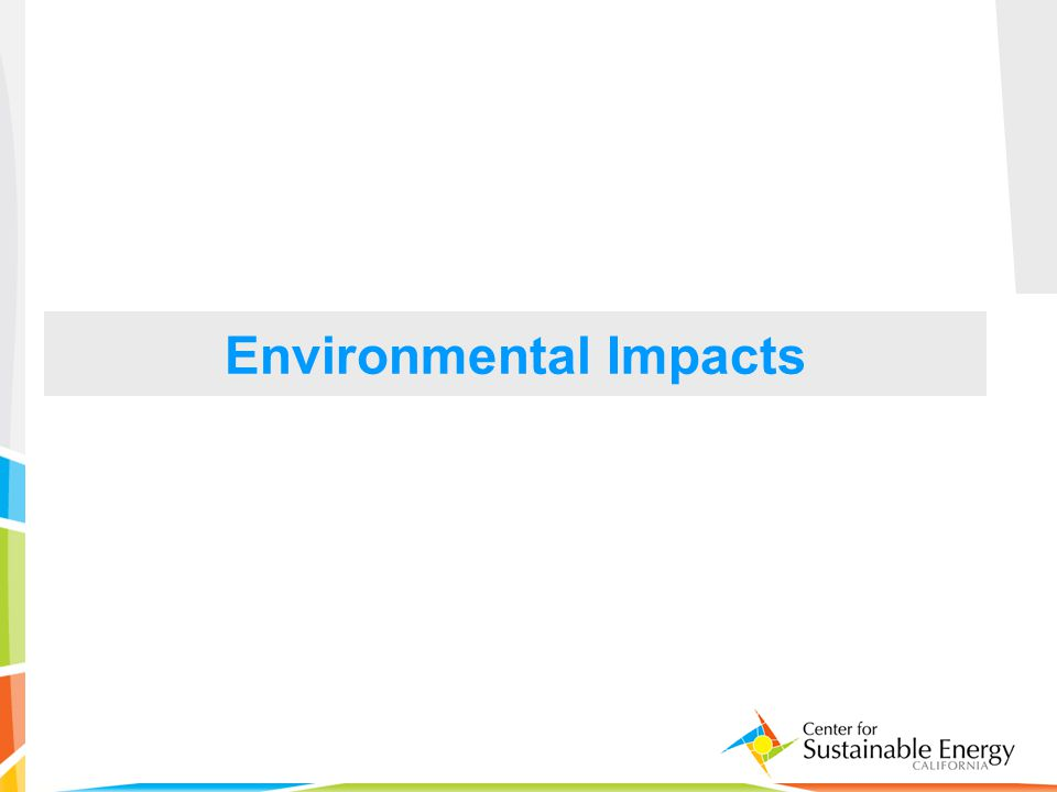 17 Environmental Impacts