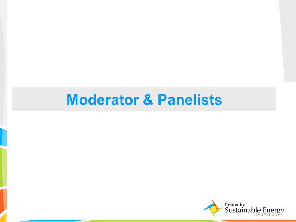 3 Moderator & Panelists