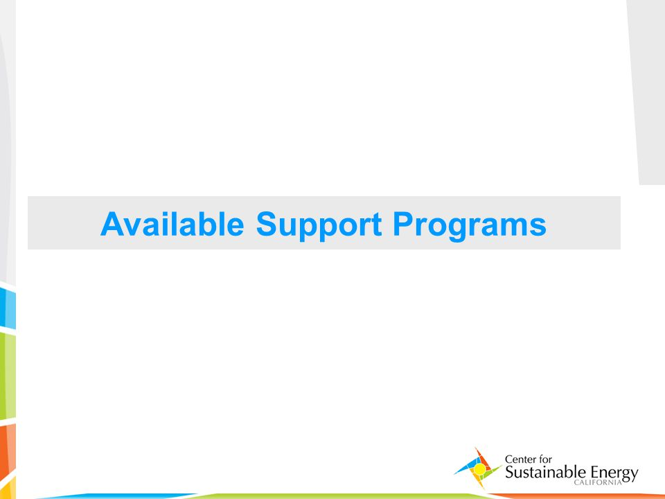 33 Available Support Programs