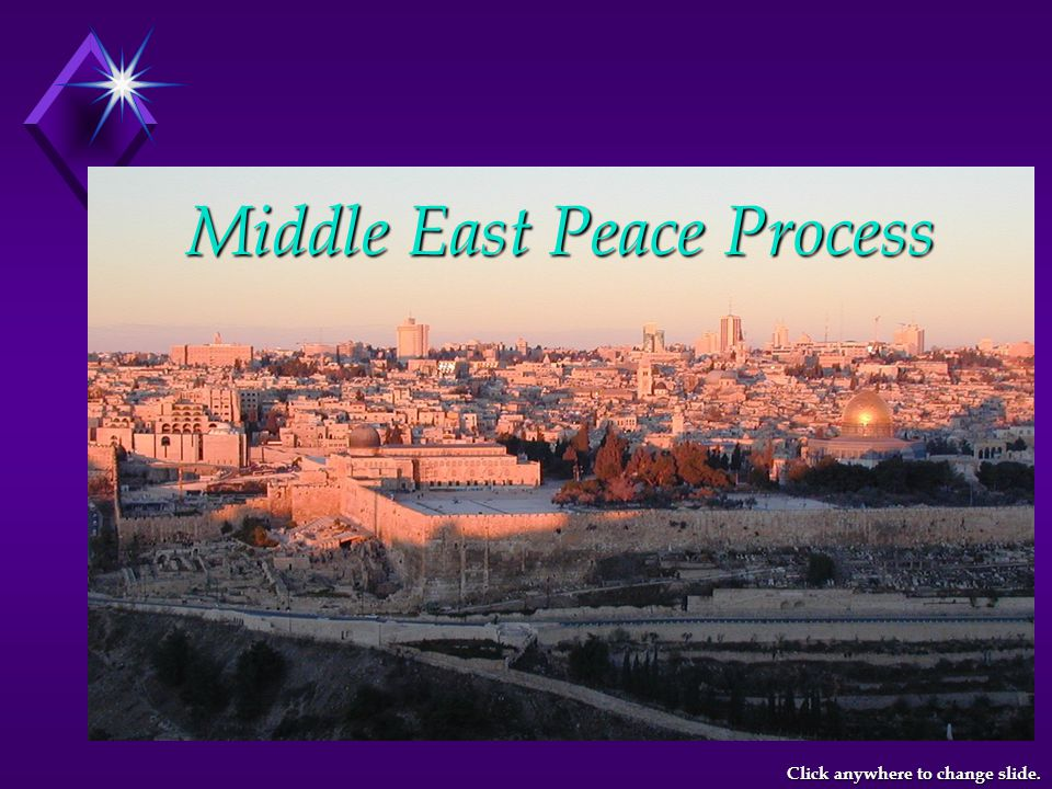 A Step Towards Data Exchange … A Real-Time Monitoring System on Regional Water Resources A Step Towards Data Exchange … Middle East Peace Process French GEF - Telemetry Project Beneficiaries: Israeli, Jordanian and Palestinian Core Parties Beneficiaries: Israeli, Jordanian and Palestinian Governmental Water Institutions & Authorities ( The Core Parties ) Click anywhere to change slide.