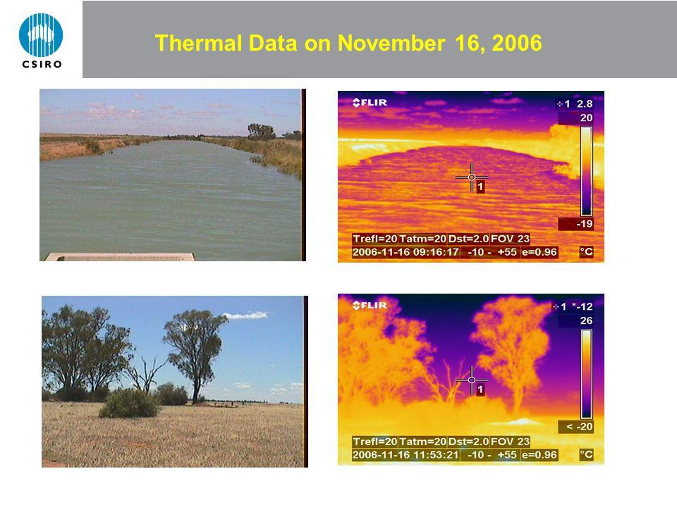 Thermal Data on November 16, 2006
