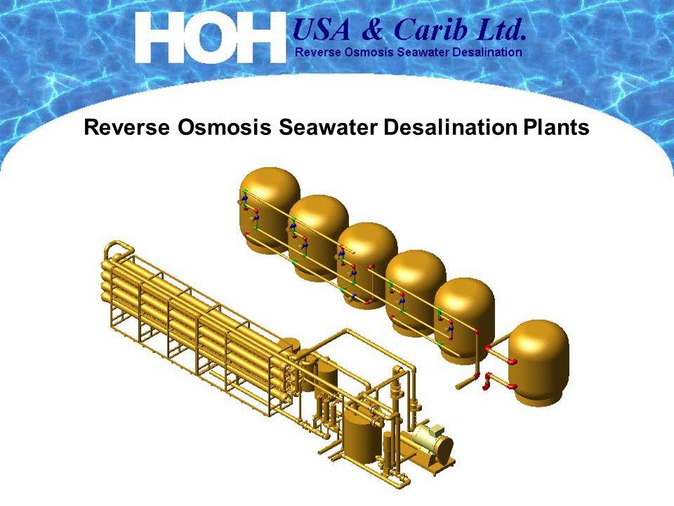 Reverse Osmosis Seawater Desalination Plants