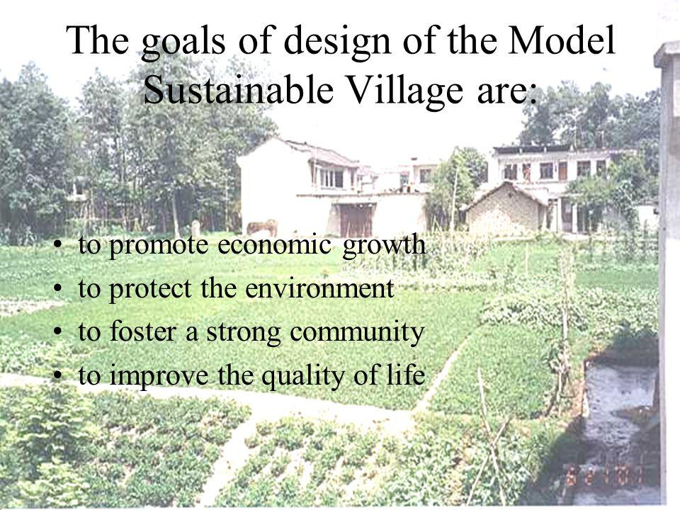 Basic Principle 5 Improve the efficiency of all systems in the sustainable village Agricultural productivity Energy efficiency Human productivity Resource utilization