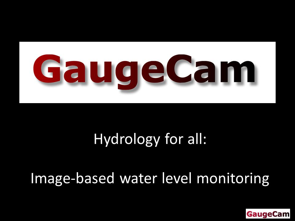 Hydrology for all: Image-based water level monitoring