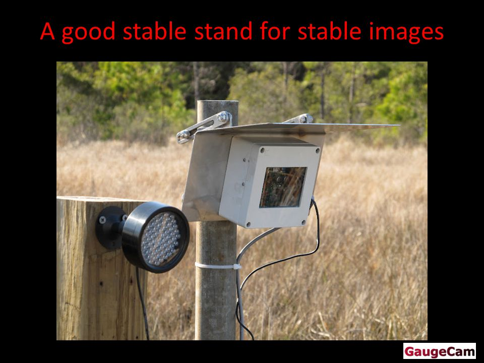 A good stable stand for stable images