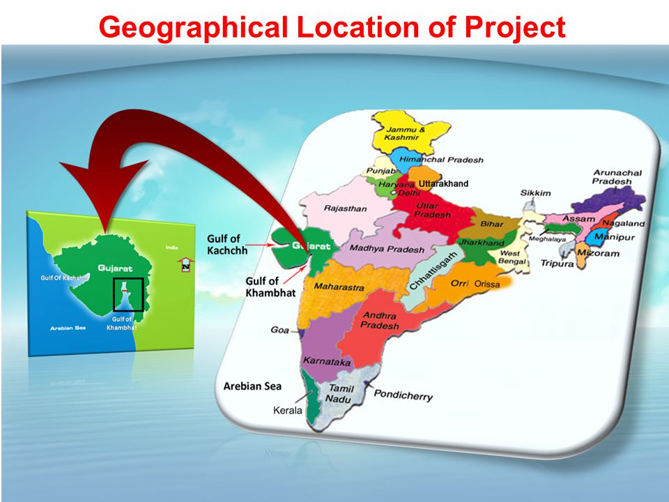 Geographical Location of Project