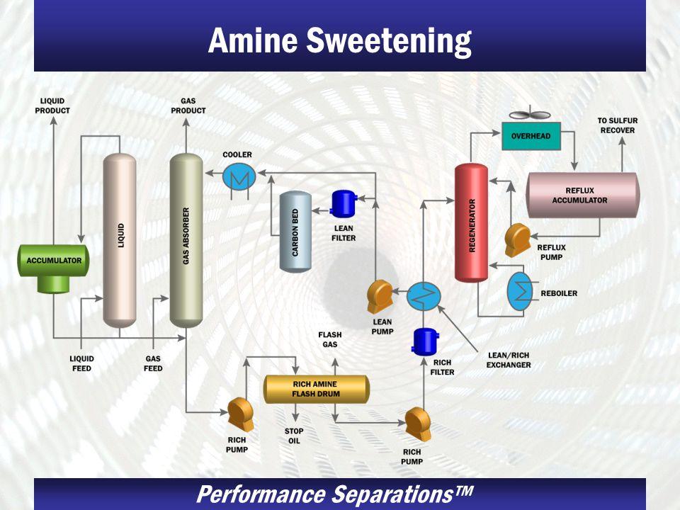 Performance Separations Amine Sweetening