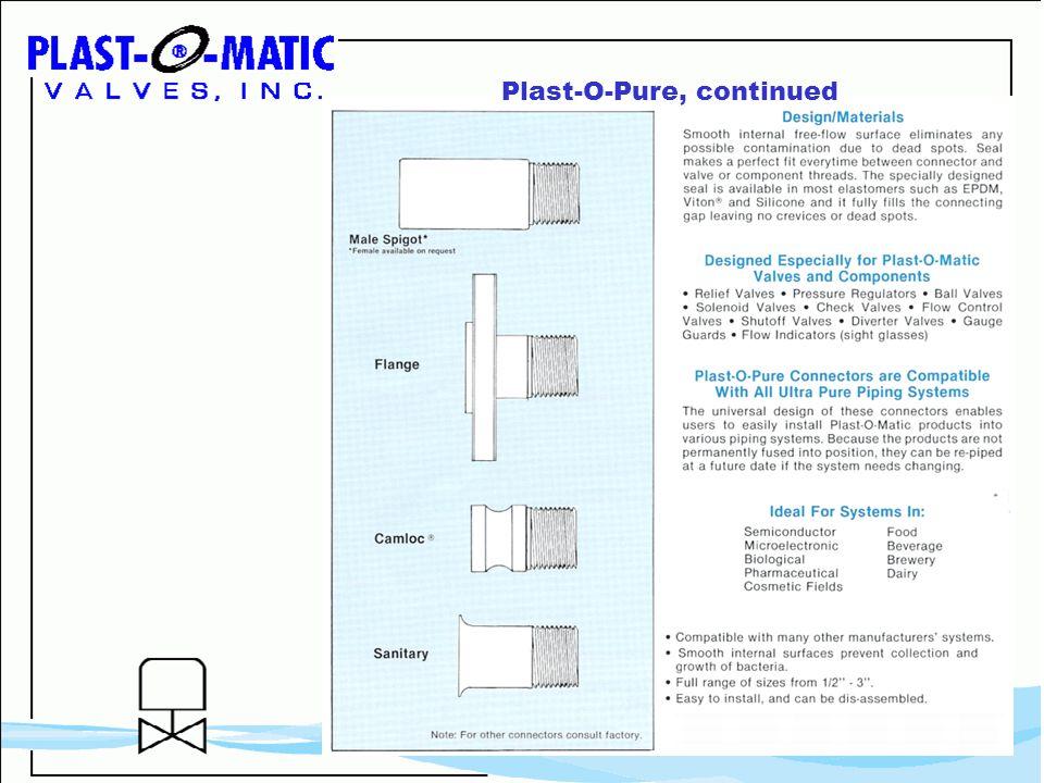Plast-O-Pure, continued