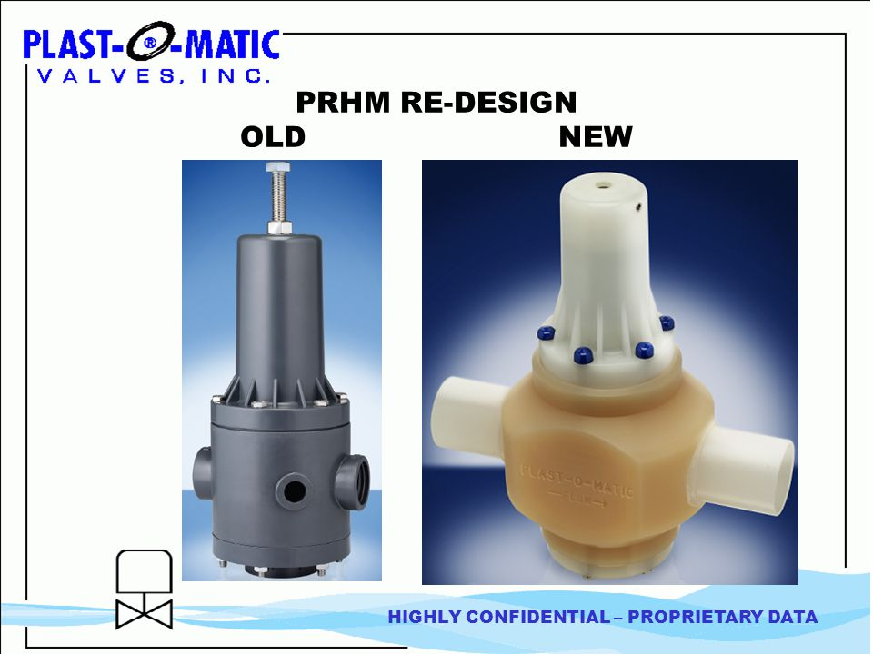 POM PRHM Exceeds requirements Parker PR3 GF V182 COMPARATIVE ANALYSIS 1 Pressure Regulator Droop Performance Curves Industry requirement 20 GPM @ 14 PSI droop Do not meet requirements