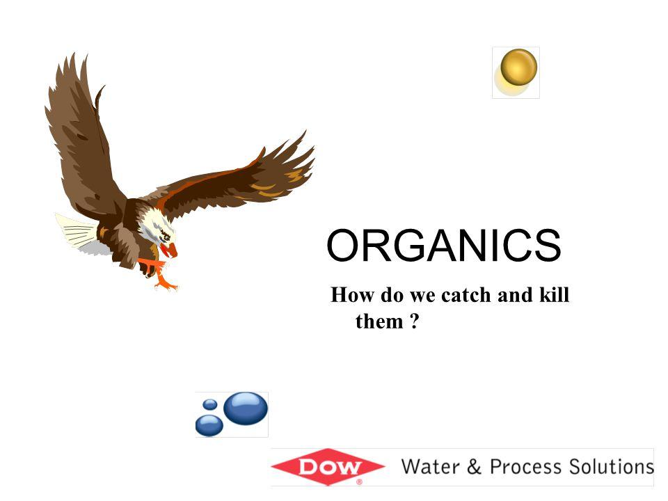 Organics 12 VAN DER WAALS BONDING Attraction between aromatic rings Anion resin Organic acid