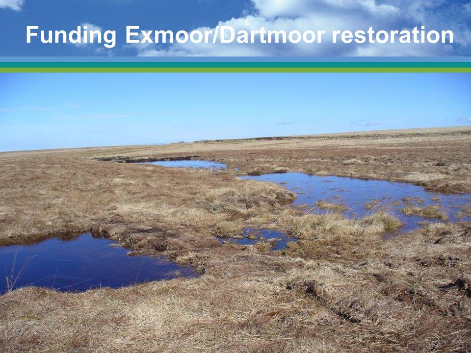 Funding Exmoor/Dartmoor restoration