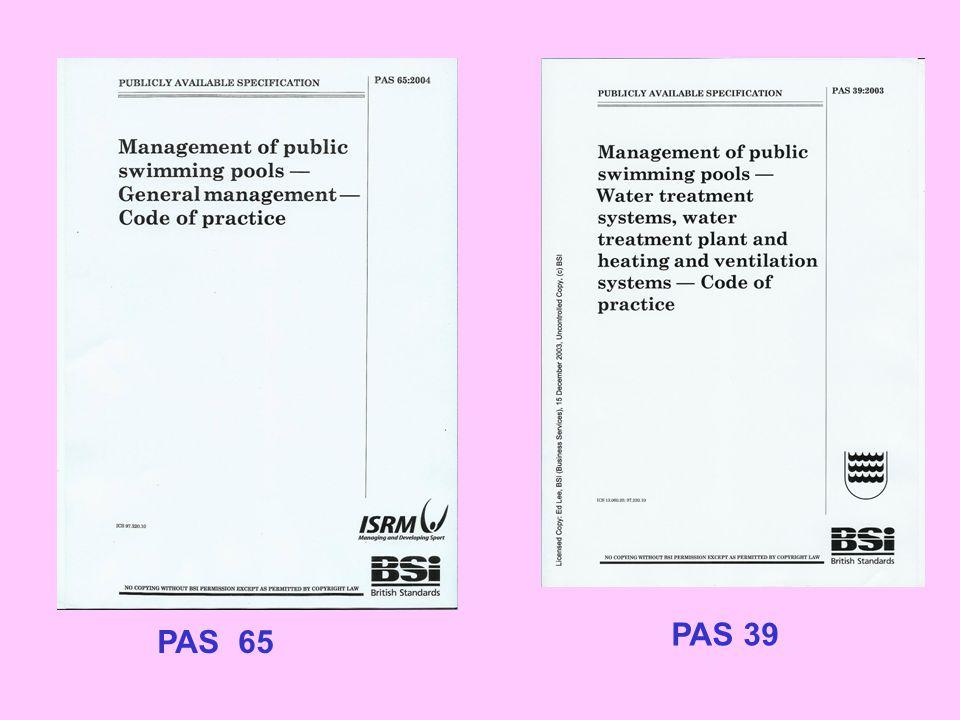 PAS 65 PAS 39