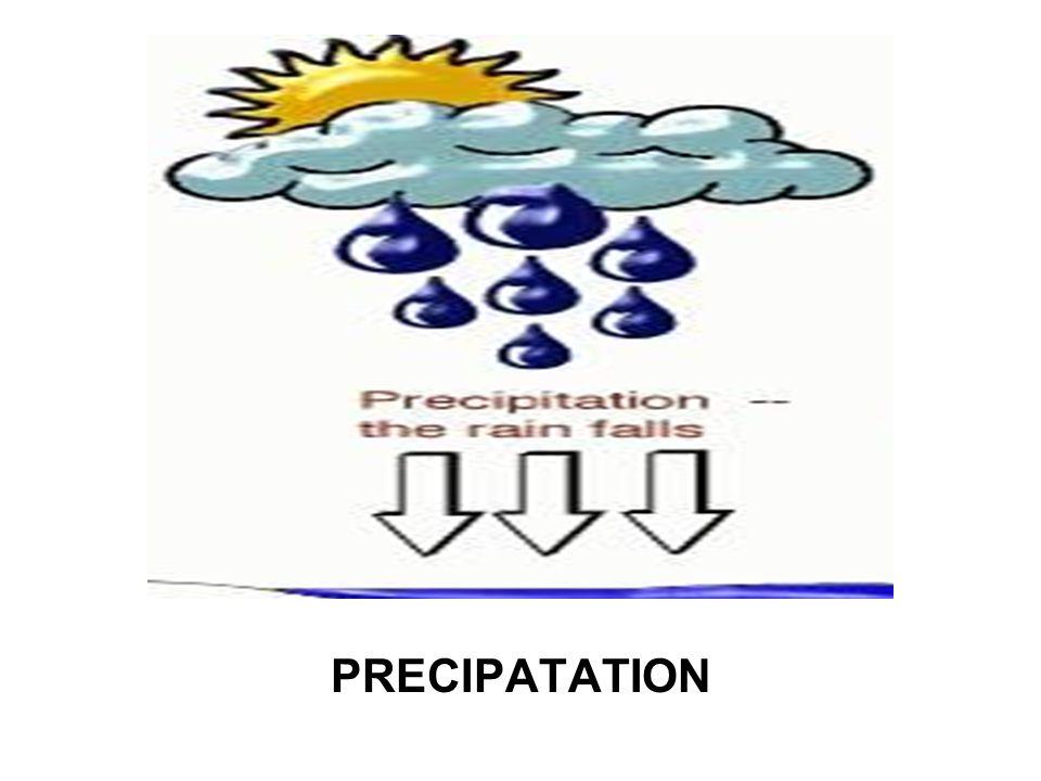PRECIPATATION