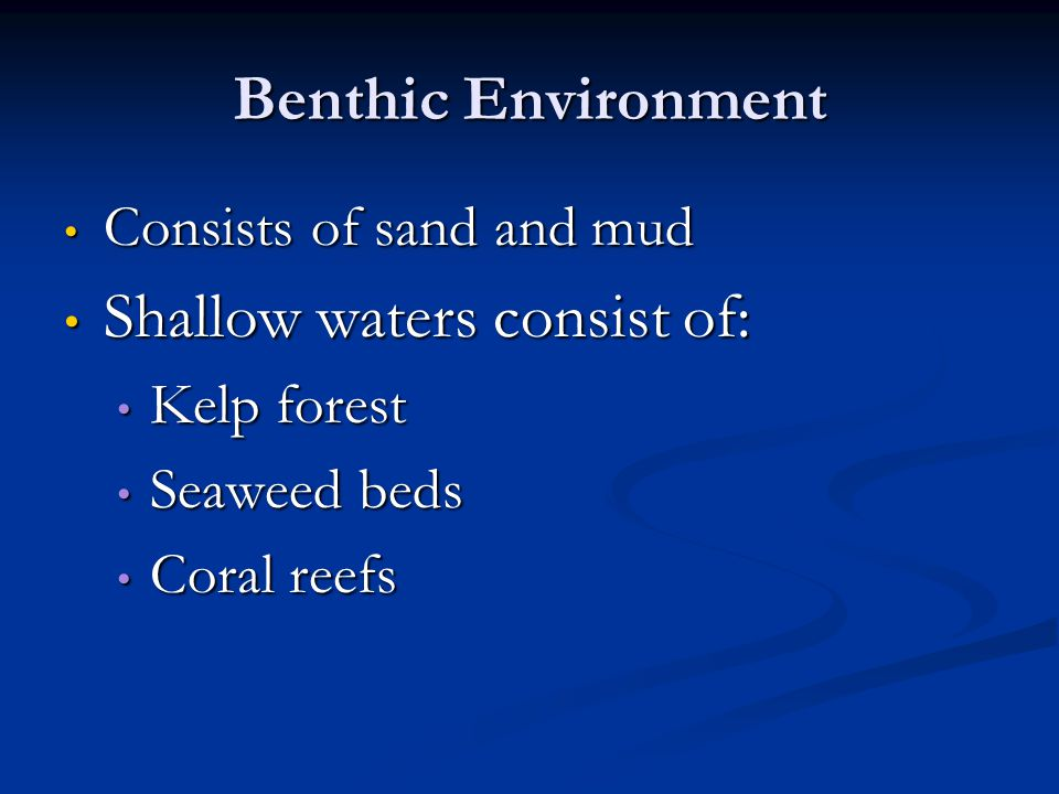 Coral reefs are often nutrient poor!