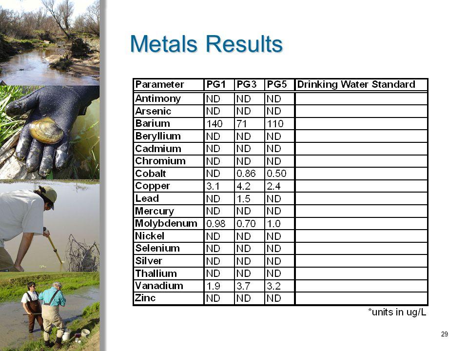 29 Metals Results