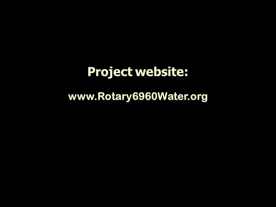 Project website: www.Rotary6960Water.org