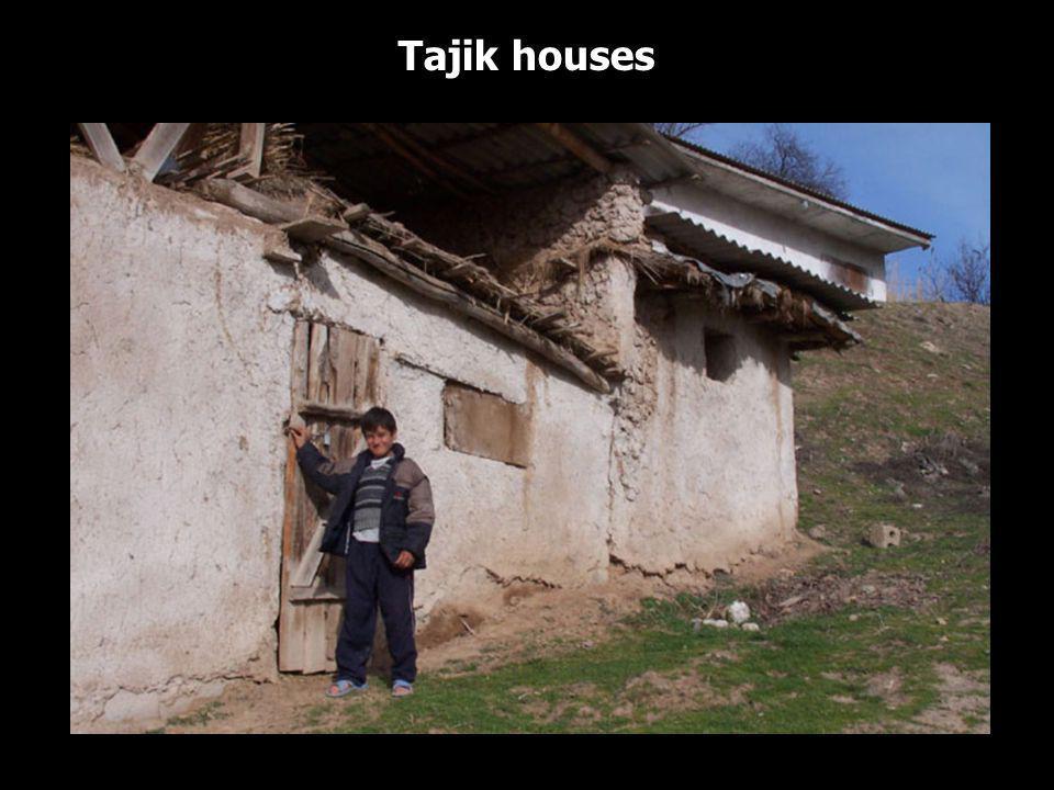 Tajik houses