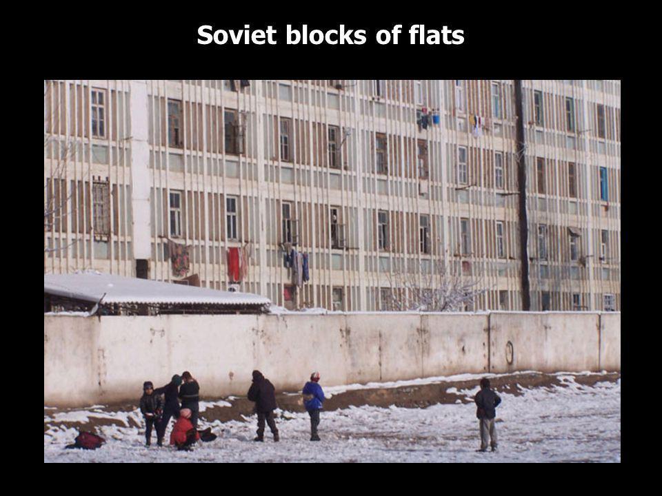 Soviet blocks of flats