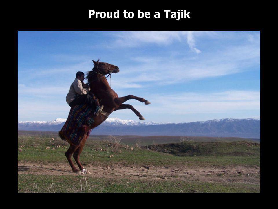 Proud to be a Tajik