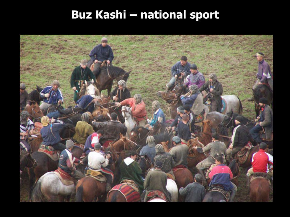 Buz Kashi – national sport